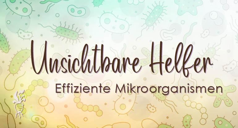 Effektive Mikroorganismen - Unsichtbare Helfer